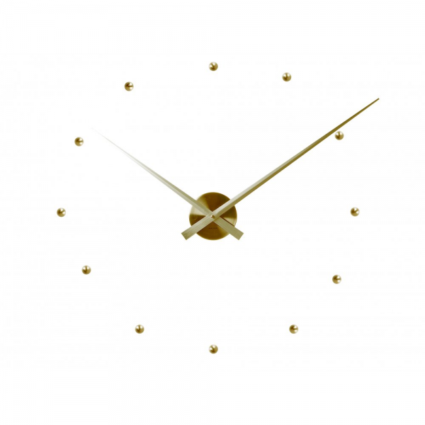 Karlsson Little Big Time Bullets Gold Large Wall Clock | Hurn & Hurn