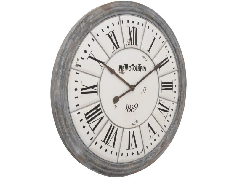 ... wall clock | antique large wall clock | white tile huge wall clock