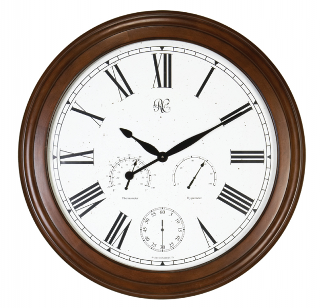 Large Wall Clocks > Wall Clocks > 30 Cherry Weather Wall Clock