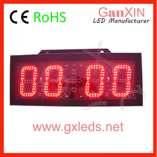 LED Countdown Timer 6 Large Digital LED Wall Clock LED Countdown ...