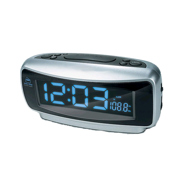 Compact AM/FM Dual Alarm Clock Radio - Overstock™ Shopping - Top ...