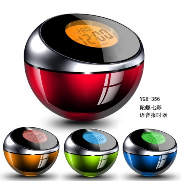 Small-gift-spinning-top-colorful-talking-clock-alarm-clock-small-alarm ...