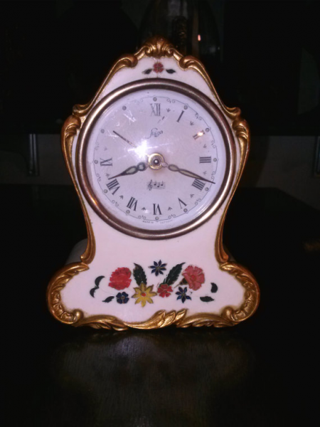 ... similar to VINTAGE German Staiger child's music/alarm clock on Etsy