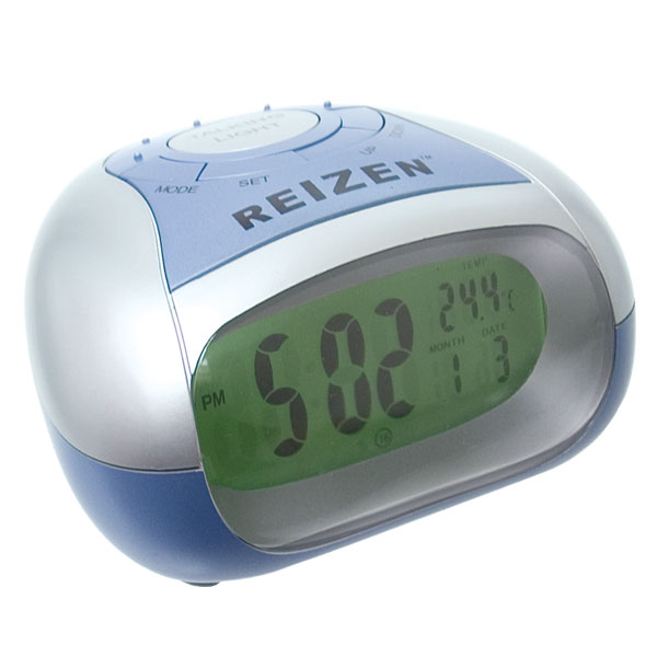 ... Talking Alarm Clock - Time-Temperature - Low Vision Clocks - MaxiAids