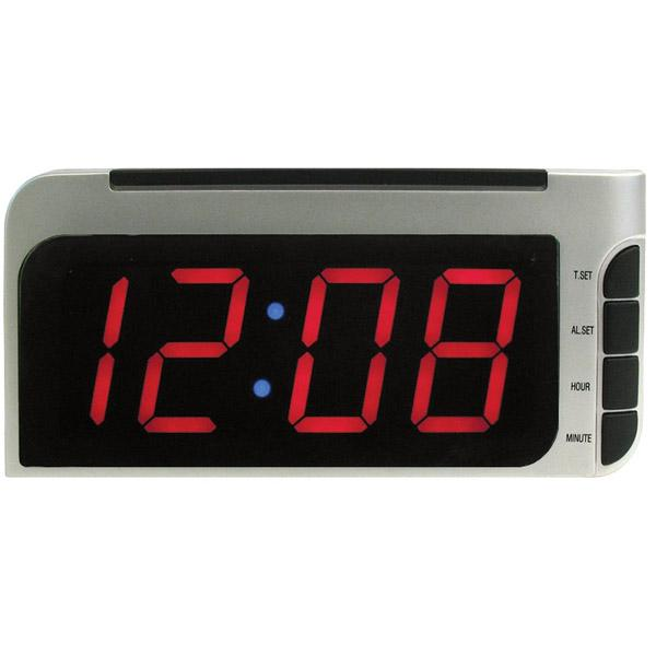 Elgin Electric Alarm Clock Autotimeset Dimmer 2 Display New Free US ...