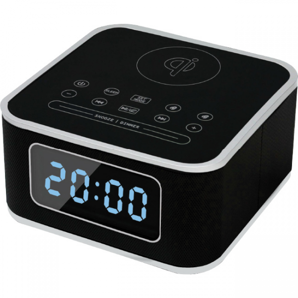 Istyle QI Wireless Charging Station With Digital Alarm Clock Bluetooth ...