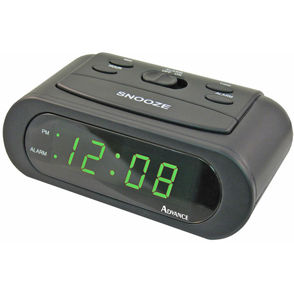 Advance Electric Alarm Clock Battery Backup Snooze Repeat New Free US ...
