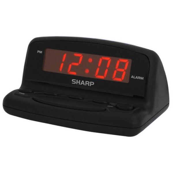Sharp LED Digital Alarm Clock - «It did its job for the price ...