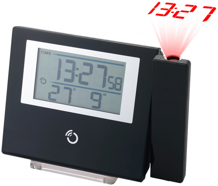 ... Scientific RM368P Ultra Thin Radio Controlled Projection Alarm Clock