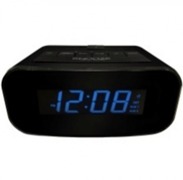 Advance Time Technology 0 9 inch Electric LCD Alarm Clock with USB ...