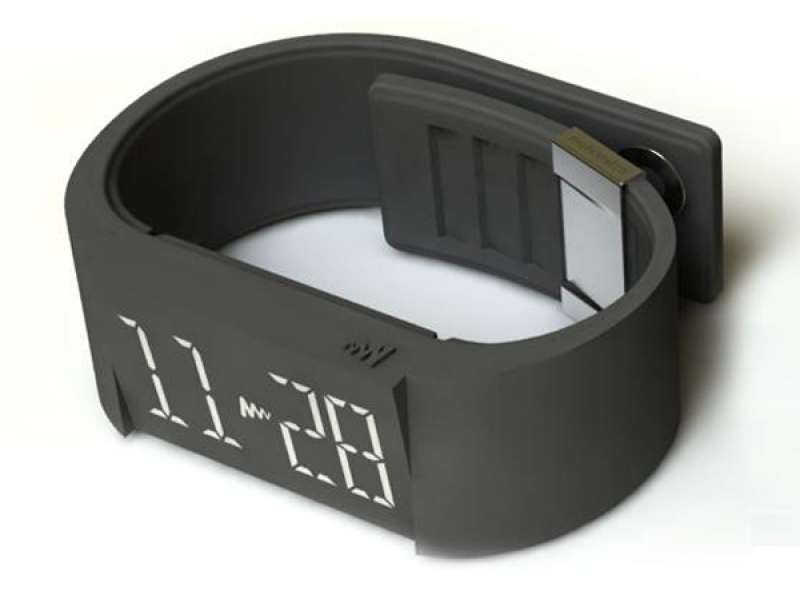 vibrating wristband alarm clock