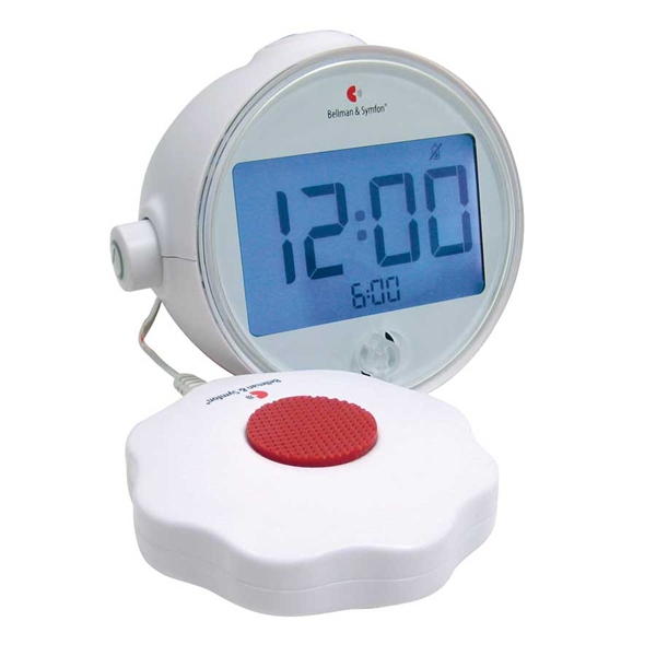 Vibrating Loud Alarm Clock for Hearing Impaired - Loud Alarm Clock for ...