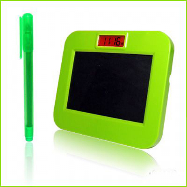 ... fluorescent message board message board alarm clock with LED lights