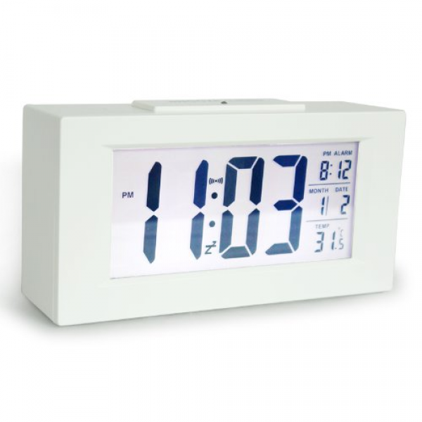 ... Clock Desktop Bedside Lazy Snooze Silent Alarm Clock... - Top-clocks