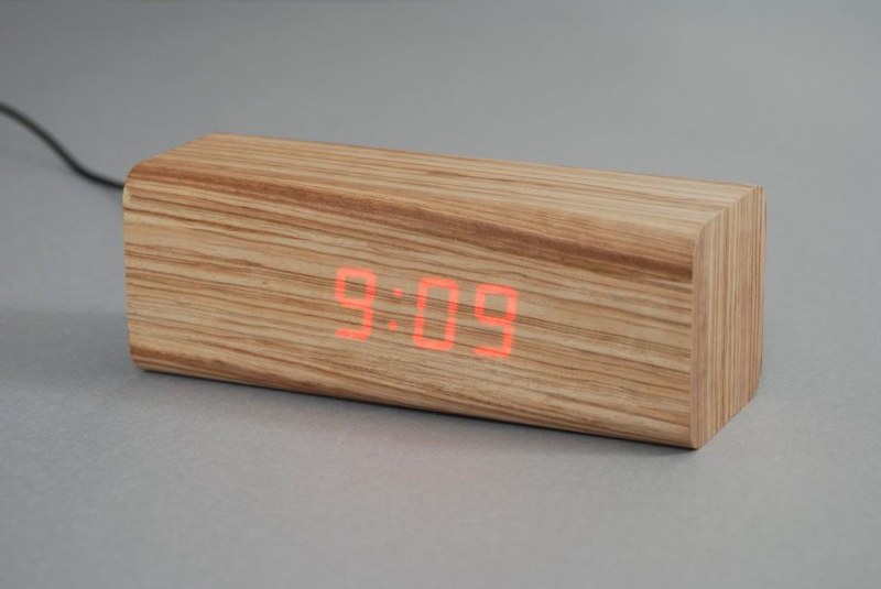 China Wooden LED Alarm Clock (EN1104) - China Alarm Clock, Led Display