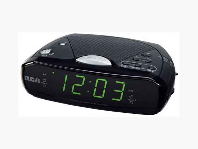 ... In needed $20 · RCA Model RP4842A Dual Wake Alarm Clock AM/FM Radio