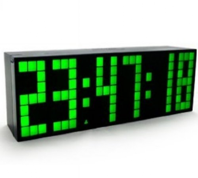 ... Big Number Jumbo LED Snooze Wall Desk Alarm Clock... - Top-clocks.com