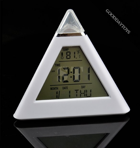 ... about best-selling New 7 LED Color Digital LCD Alarm Clock Thermometer