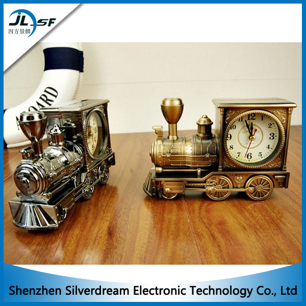 ... clock train shape Personalized antique clock high quality alarm clock