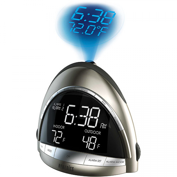 Homedics SS-5010 Soundspa Premier Am/Fm Clock Radio - Walmart.com