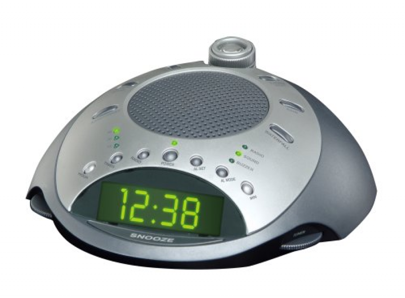 HoMedics SS-4000 Sound Spa Classic Deluxe Clock Radio & Sound Machine ...
