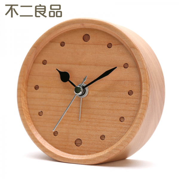 High-quality-wooden-small-alarm-clock-Repeat-alarm-fashion-clock-wood ...