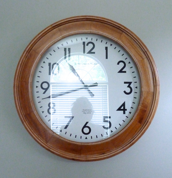 wall clock | The Mace Place
