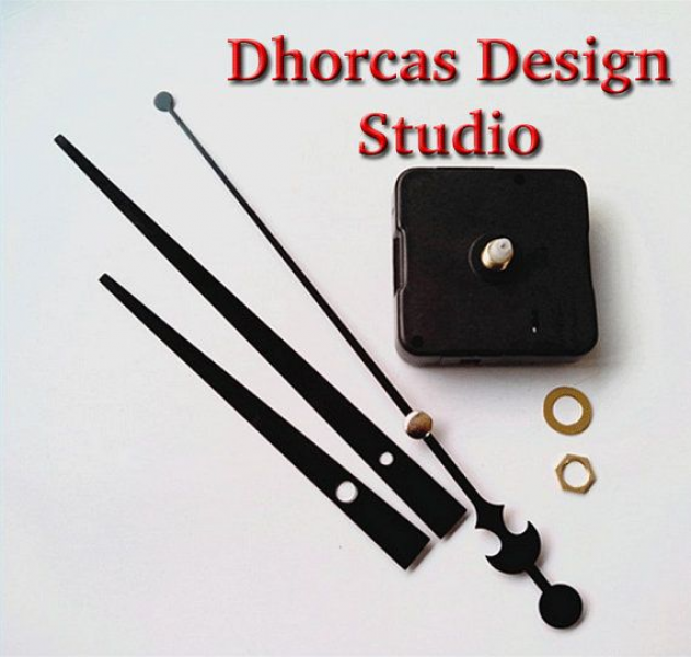 ... Clock Motor kit for wall clock replacement, movement and LONG 7 hands
