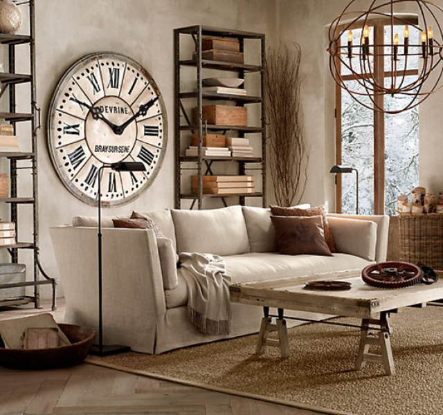 Large Decorative Wall Clocks Can Add More Decoration