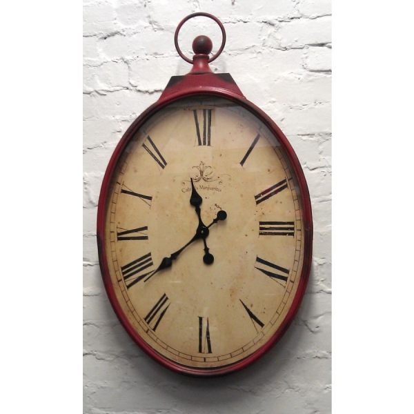 Large Oval Wall Clock - PC Home Accessories In Preston