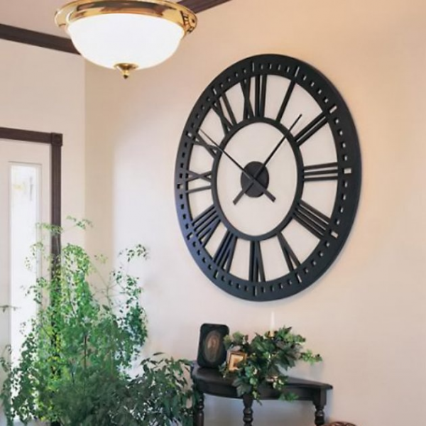 Oversized Tower 38 Inch Wall Clock - Wall Clocks at Clock Style