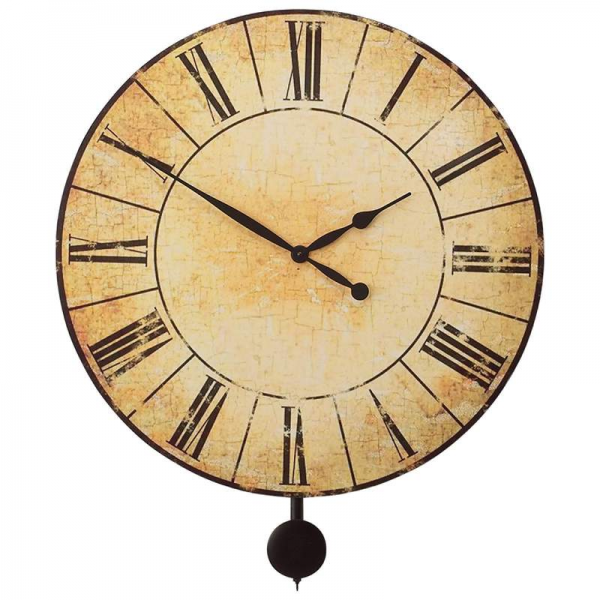 Extra Large Pendulum Wall Clock | Edward Meyer