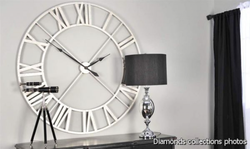 large contemporary wall clocks 2015-2016 ( video ) | Diamonds Photo