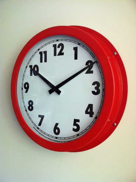 Large Contemporary Wall Clocks | The Sydney Clock Company