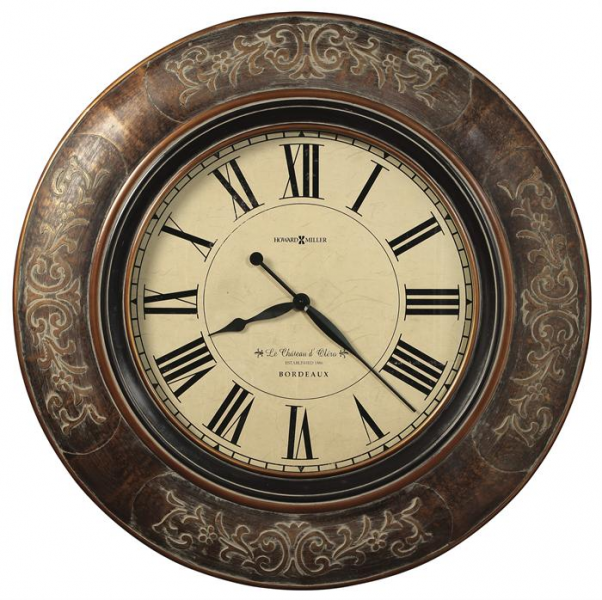 Howard Miller Le Chateau 37-1/4 Large Wall Clock 625535