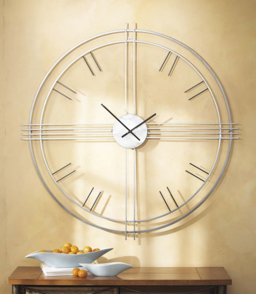 CBK - Large Contemporary Wall Clock with Open Face Dial 44018 ...