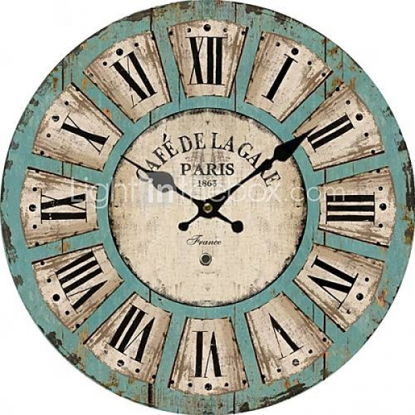 Euro Country Wall Clock | DIY beauties | Pinterest
