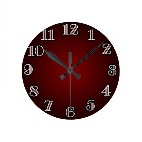 Large Red Wall Clocks Large Wall Clocks Www Top Clocks Com