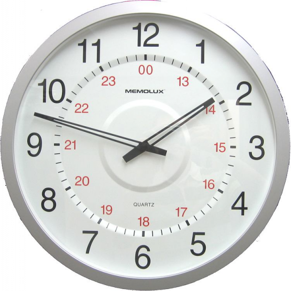 Large Atomic Wall Clocks – Bold and Dramatic | Homes and Garden ...