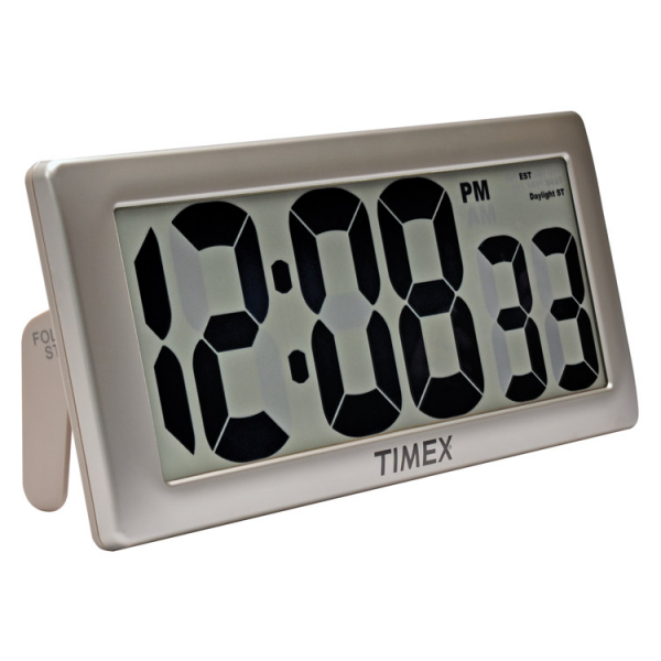 Wall Clocks: Timex 75071T Intelli-Time Digital Wall Clock | Klockit