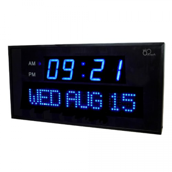digital atomic wall clock large wall clock furnishings reviews buy
