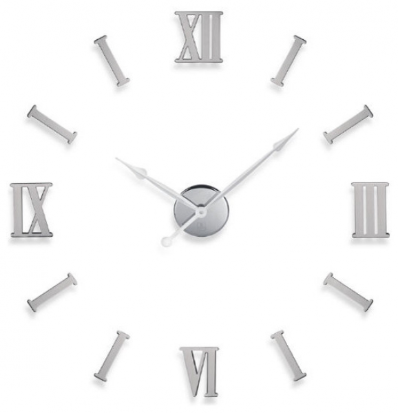 DIY Metal Wall Clock with Roman Numerals - Transitional - Wall Clocks ...