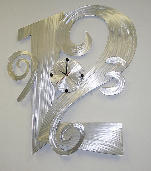 ,contemporary metal clocks,large metal clocks,large metal wall clock ...