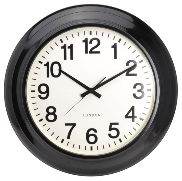 Extra Large 62cm Metal Wall Clock Modern Contemporary Design | eBay