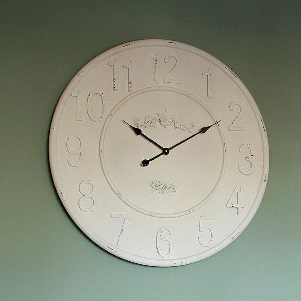 Extra Large White Wall Clock - Melody Maison®