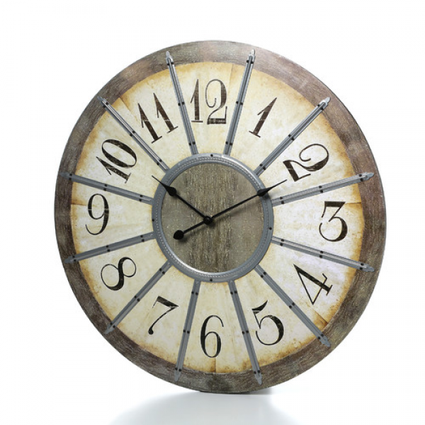 Ashton Sutton Louvre Large 23 Wall Clock & Reviews | Wayfair