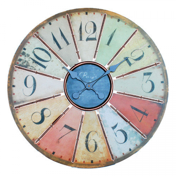 Ashton Sutton Oversized Large Wall Clock - Walmart.com