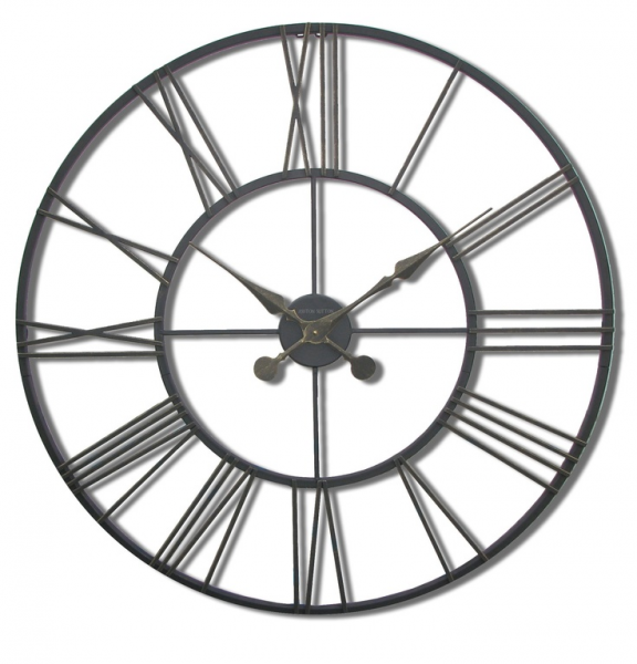 Ashton Sutton Large Metal Wall Clock - T135089