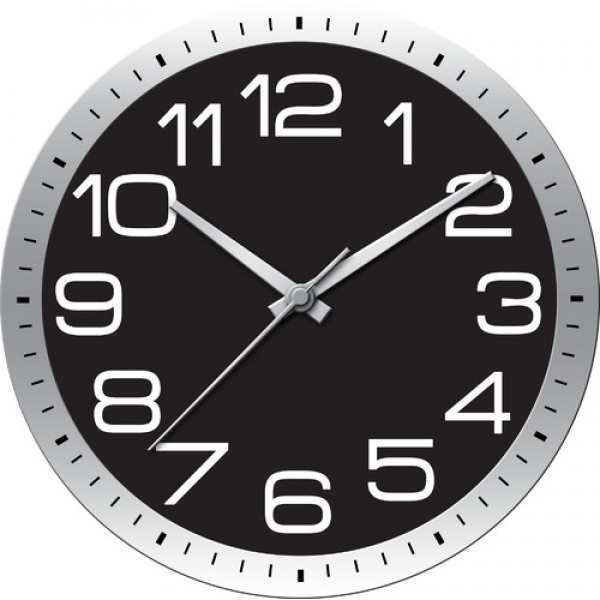 Ashton Sutton Modern Home Large Wall Clock & Reviews | Wayfair