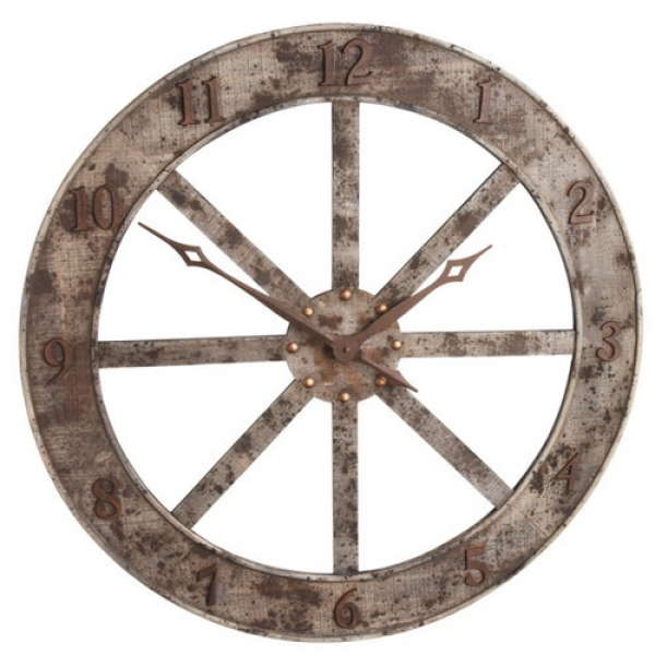 Large Western Wall Clock | Western & Southwestern Home Decor | Pinter ...